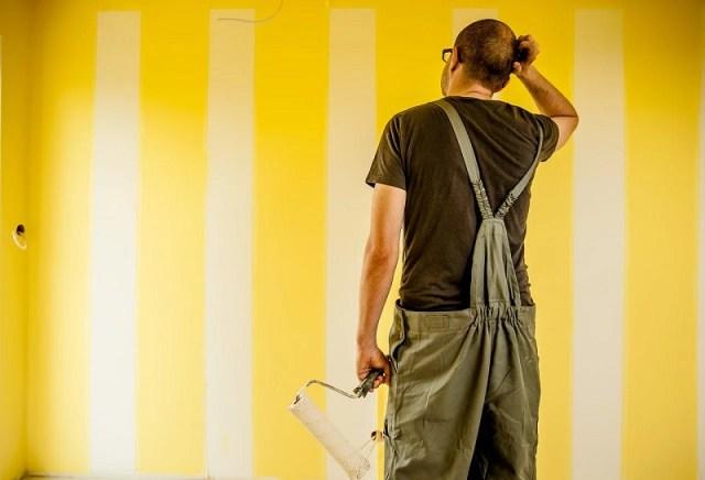Malowanie ścian porady krok po kroku