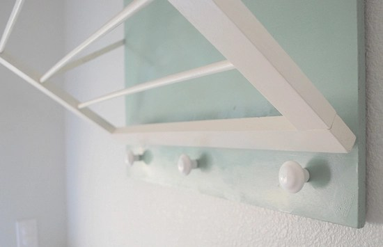 Diy Laundry Room Drying Rack Centsational Style