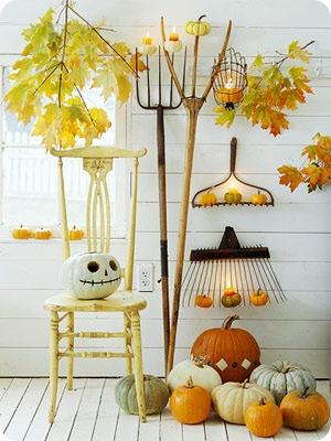 bhg natural art pitchforks chair