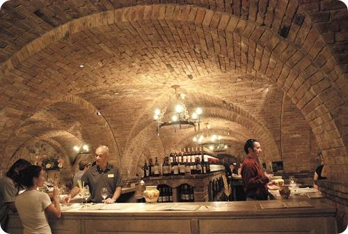 castle tasting room