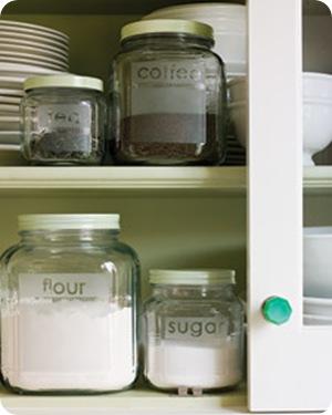 etched glass storage jars martha