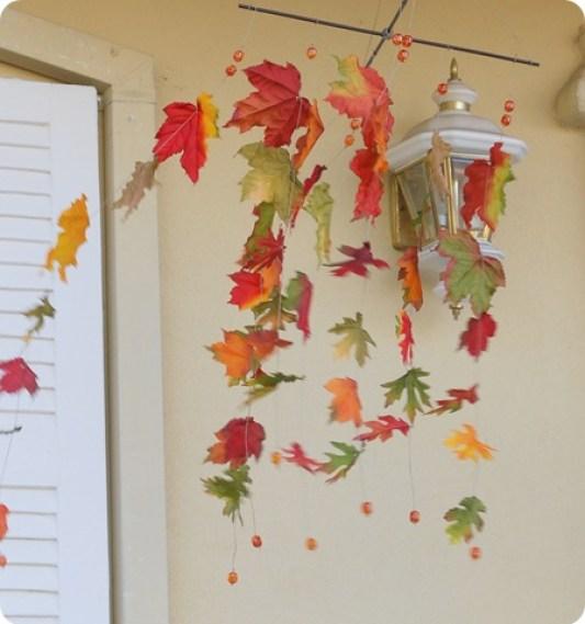 leaves in wind