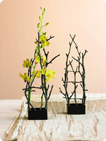 twig flower holder viva terra