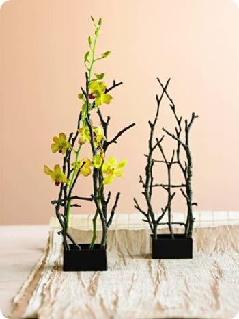 twig flower holder viva terra