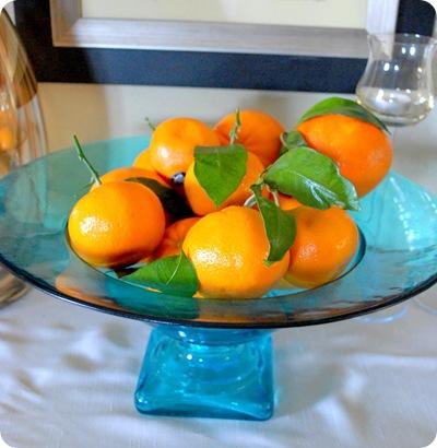 bowl of mandarins and oranges