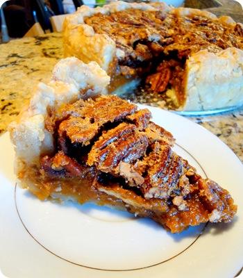 sweet potato pie slice