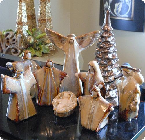 ceramic nativity