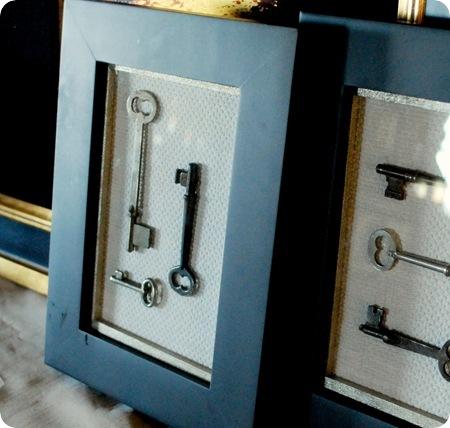 framed keys