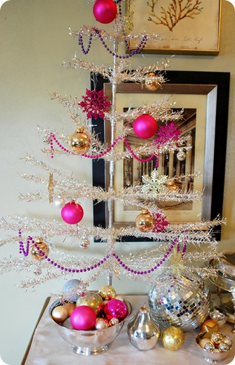 tinsel tree 2