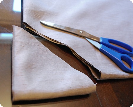 trim center fabric