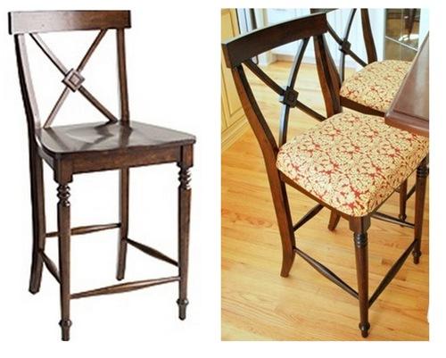 upgraded bar stool