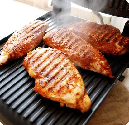 grill chicken indoors
