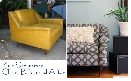 kyle schuneman before and after chair