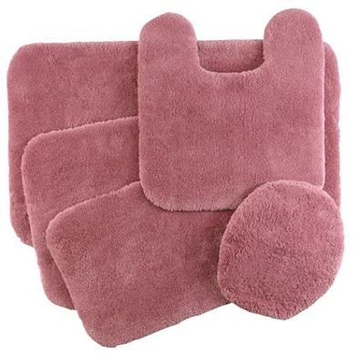 rose bath mat sears