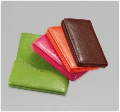 saks business card case graphic image