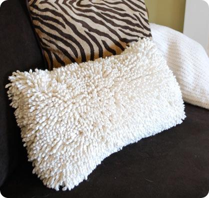 shag pillow