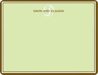 simple border in celadon