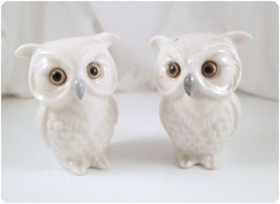 vintage s and p owl