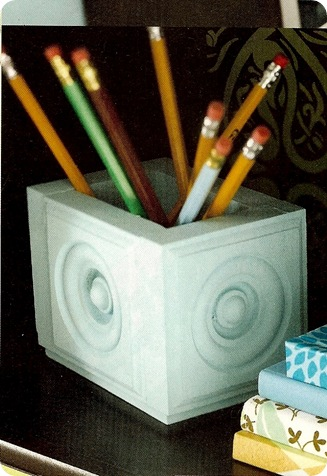 bhg molding pencil holder