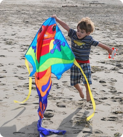 throwing kite