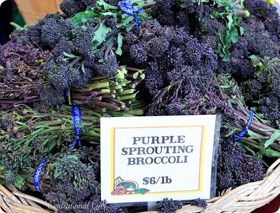 cg purple sprouting broccoli