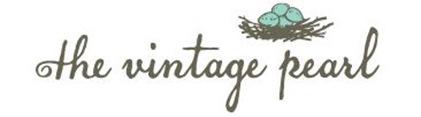 vintage pearl header