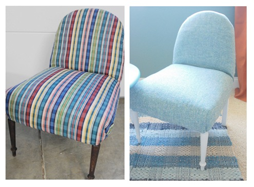 chair 2 before and after