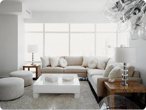 white lacquer coffee table decorpad