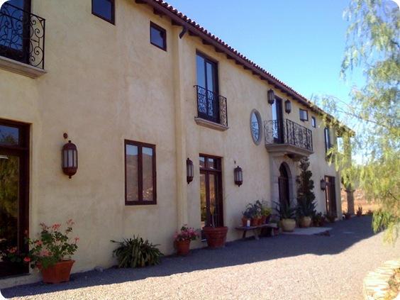 villa de valle front