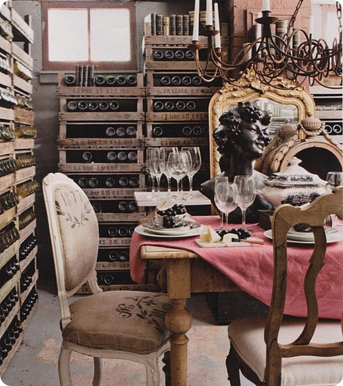 basement wine cellar country living