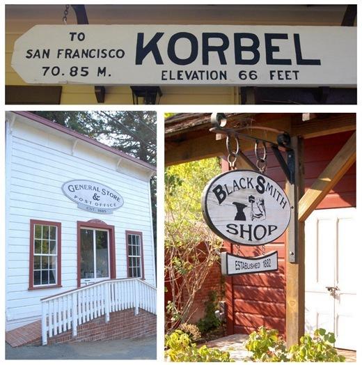 korbel historic signs