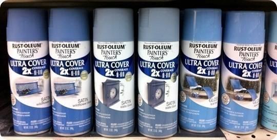 Where To Buy Rustoleum Metallic Black Night Spray Paint