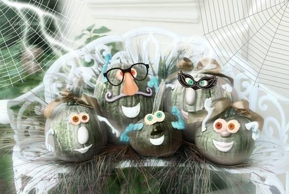 cg pumpkin family halloween