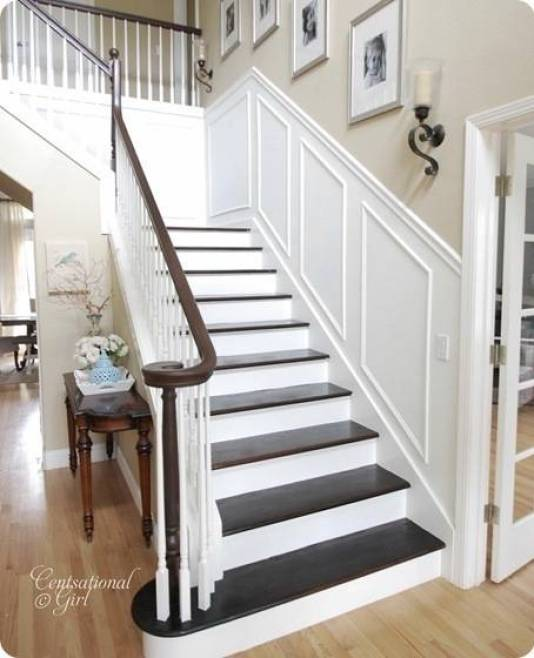 Top 50 Best Wood Stairs Ideas: Finished Staircase!