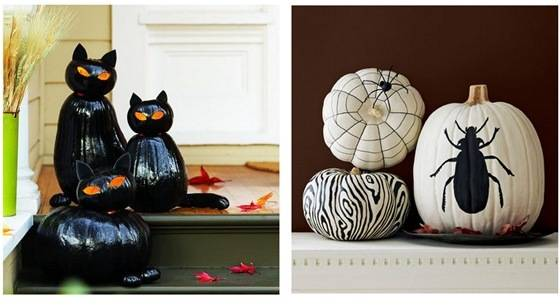 sunset black cats and country living pumpkins