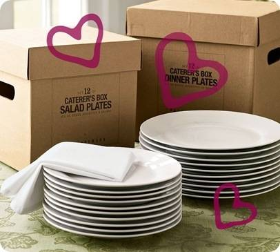 pb caterers plates