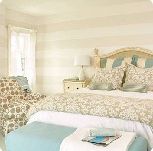 stripes on walls coastal living