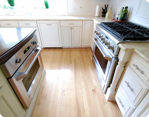 double ovens in kitchen