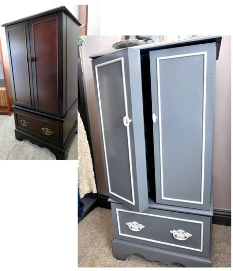 jewelry chest b and a