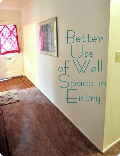 better use of wall space