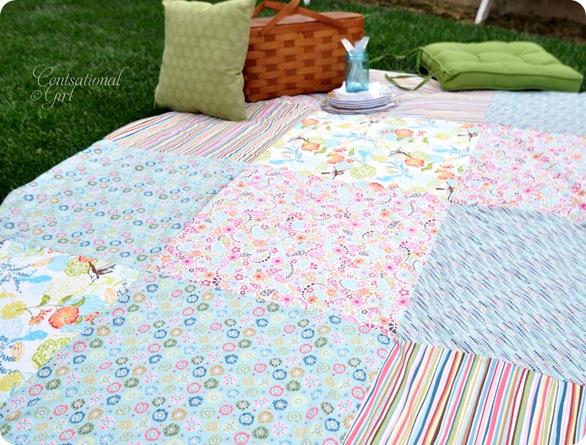cg patchwork picnic blanket pattern