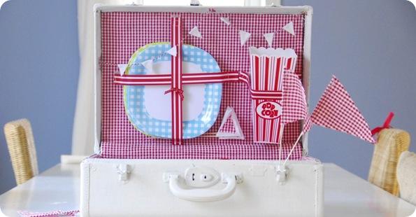 suitcase picnic via design sponge funkytime blog