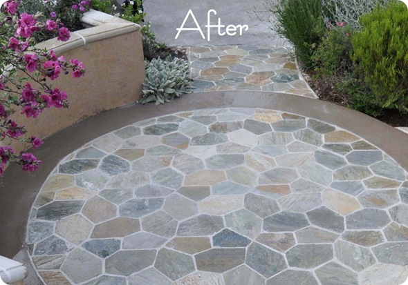 patio after