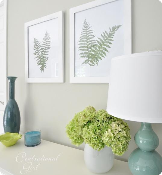 fern art from side
