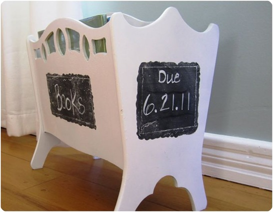 library book holder