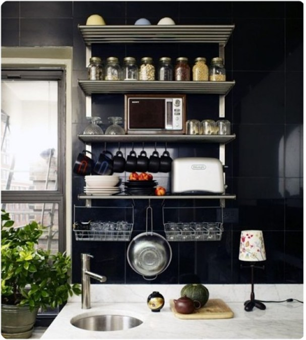 Apartment Therapy Kitchen Shelves: Timeless Or Trendy? Open Shelving In Kitchens