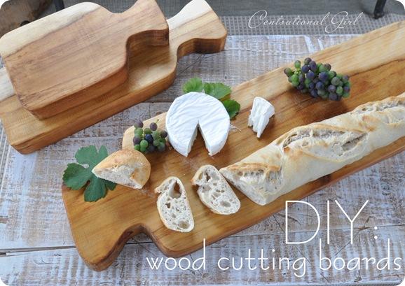 diy wood cutting boards cg