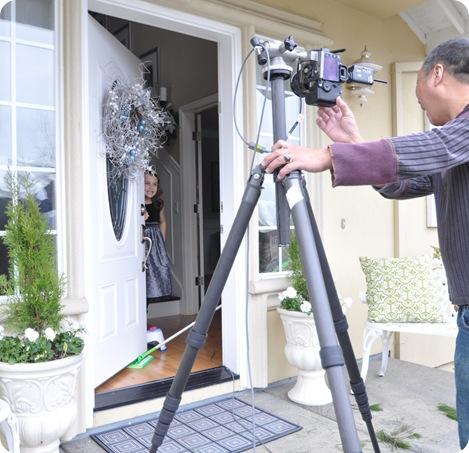 front door scene