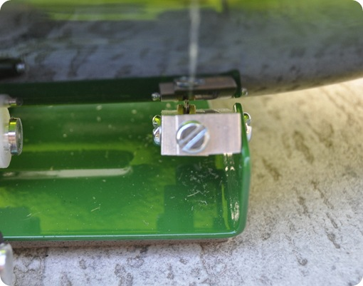 mini shards of glass