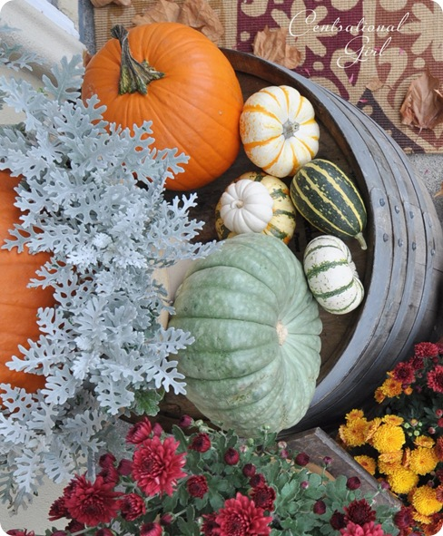 fall porch pumpkin medley cg